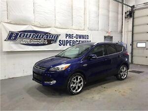 2015 Ford Escape Titanium W/ SUNROOF, LEATHER, REMOTE START, NAV