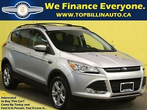 2013 Ford Escape 4WD, LEATHER, 2 Years Warranty, 1 OWNER