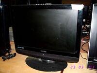 "TECHNIKA 19"" LCD TV . FREEVIEW."