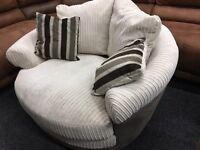 New / Ex Display Cuddle, Swivel Chair