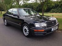 LEXUS LS 400 PETROL AUTO 5DR 1996 GREEN *FULL SERVICE HISTORY* *FULL HEATED LEATHER*