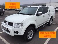 2010 MITSUBISHI L200 DI-D4X4 AUTOMATIC / NEW MOT / PX WELCOME / FINANCE / TOW BAR / WE DELIVER