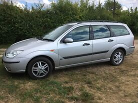 Ford Focus estate 1.6 zetec