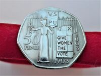 2003 - 100th Anniversary of the Formation of the Women's Social and Political Union - 50 Pence Coin