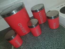 Kitchen canisters !!