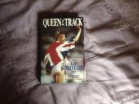 "Hardback Book, LIZ McCOLGAN "" QUEEN OF THE TRACK"""