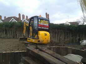SUPERIOR MINI DIGGERS MINI DIGGER AND DRIVER HIRE FROM £195.00 PER DAY FULLY INCLUSIVE **