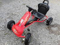 FERBEDO KIDS GO-CART, HARDLY USED, EXCELLENT CONDITION