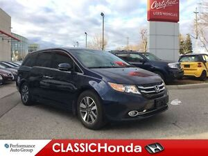 2014 Honda Odyssey TOURING | ONE OWNER | NAVI | LEATHER | ALLOYS
