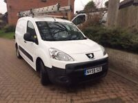 Peugeot Partner van 2009. Very reliable, cheap to run, good condition
