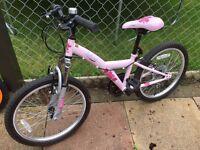 "Halfords Apollo Kinx 20"" Girls Bike"