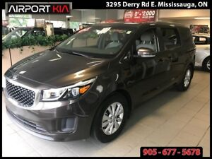 2017 Kia Sedona LX+/AUTO/AIR/POWER SLIDING DOORS/HANDS FREE/
