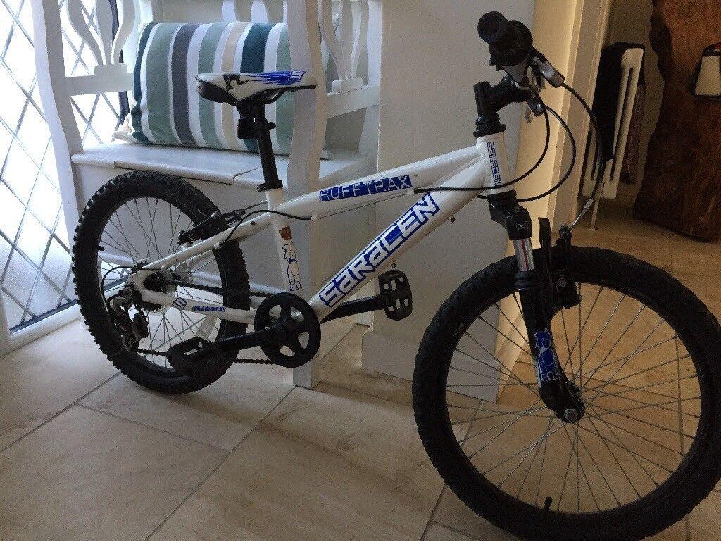 Saracen Rufftrax boys bike age 7-10
