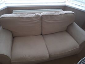 Two sitter sofa bed