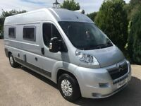 Citroen relay 2 berth camper van 2014 43,000 miles aircon 1 owner from new