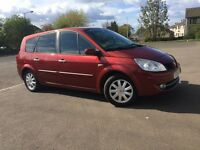 2008 RENAULT GRAND SCENIC (7 seater) 1.9 DCI (diesel) //6 SPED GEARBOX // FULL YEAR MOT