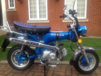 HONDA DAX ST CT COPY MONKEYBIKE SKYTEAM SKYMAX 50 2015 MONKEY BIKE 43KM ONLY