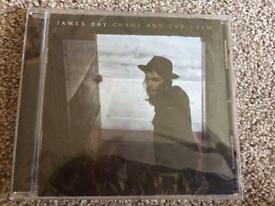 BRAND NEW James bay cd