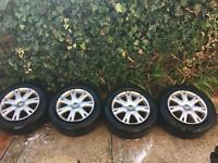 Vw Touareg Valley alloys 18 inch 255x55 Tyres