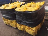 Kiln dried firewood logs, supplied in bulk bags and small nets