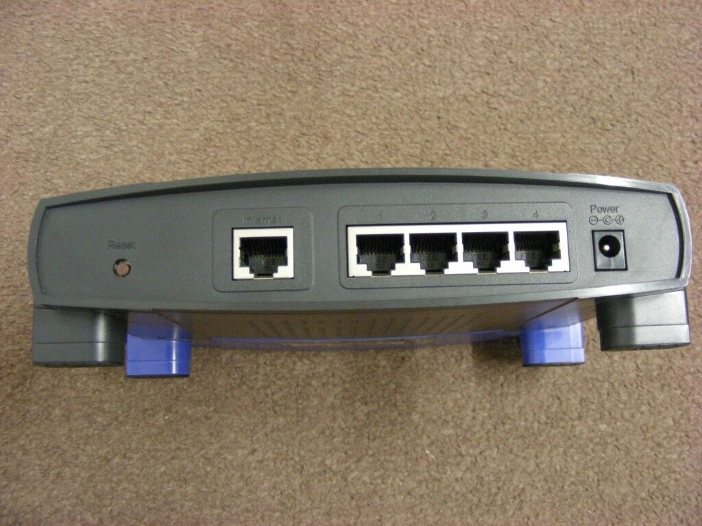 INKSYS BEFSR41 Cable/DSL Router with 4-Port Switch Wired EtherFast ...