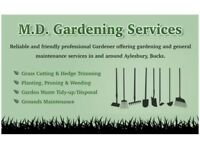 Professional Gardener working in/around Aylesbury area (Call 07580029713 for a FREE QUOTE)