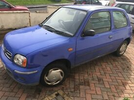 Nissan micra 2000 on sale for £100
