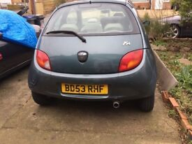 Ford KA reliable runaround. Make a good 1st car or a project