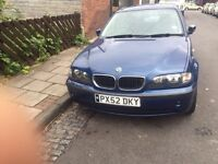 2002 BMW 318i 5dr, petrol, only 83k with full service history