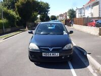 2005 VAUXHALL CORSA SXI TWINPORT MOTED FEB 17 GOOD CONDITION