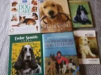 Cocker Spaniel/Dog Care/Training books