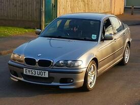 2004 BMW 318I SPORT E46 BLACK LEATHER 1 OWNER FSH VERY CLEAN AND TIDY