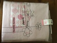 Brand new Mamas & Papas fleece blanket (fits cot or cotbed)