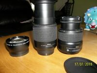 lenses for nikon d60 ,d3200