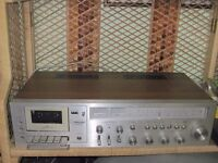 Combined cassette player / recorder and 3-band radio