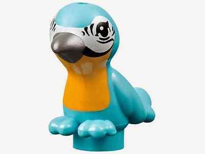 LEGO FRIENDS MINIFIGURE BIRD BLUE PARROT MACAW'S FOUNTAIN JUNGLE RESCUE BASE