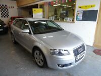 2004 AUDI A3 T FSI SPORT AUTOMATIC 2.0 5DOOR, HATCHBACK, SAT NAV, VERY CLEAN CAR, DRIVES LIKE NEW