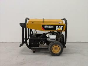 HOC 2017 CATERPILLAR RP 6500 RUNNING WATTS PORTABLE GENERATOR CAT GENTERATOR 6500 WATT + 90 DAY WARRANTY + FREE SHIPPING