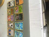 Bundle of Pokemon cards
