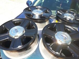 2005 Ford F-150 Rims - 17inch - painted black