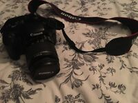 Canon EOS 1100D 12.2MP Digital SLR Camera -with charger, leads and memory card