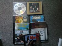 NINE ROCK CD'S SOME WITH FEINT SCRATCHES ALL PLAY PERFECTLY, COLLECTION NG17 KIRKBY (NOTTS)