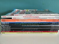 collection of mens health magazines - various dates