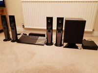 SONY SURROUND SOUND - BLU- RAY DVD HOME THEATRE SYSTEM