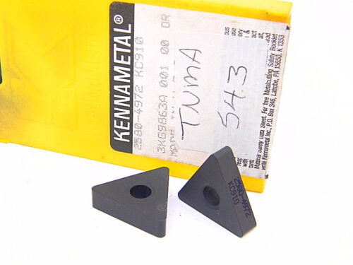 NEW SURPLUS 5PCS. KENNAMETAL  TNMA 543  GRADE: KC910  CARBIDE INSERTS