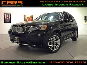 2011 BMW X3 xDrive28i| Navigation | Rear Cam |
