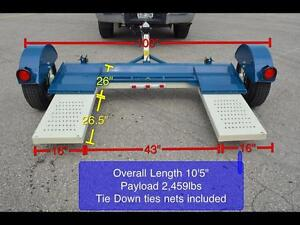 Brand New Car Tow Dolly! Standard, Electric Disc Brakes, Surge Disc Brakes - Best Prices, Shipped Canada Wide