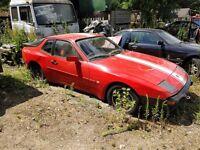 Porsche 944 1984 Project / Restoration / Spares