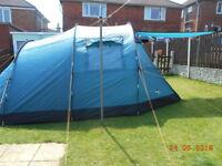 Vango tigris 400 tent & footprint & carpet
