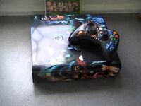 xbox 360 2014 /9 /10 model 250gb hard drive 1 game seen working